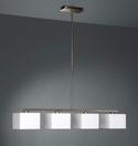 MASSIVE Lampa ADRIO 4x60W  (kolor: biały i czarny)